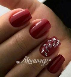 and Beautiful Nail Art Designs Gel Nail Art, Acrylic Nails, Manicure And Pedicure, Nails Only, Burgundy Nails, Minimalist Nails, Hot Nails, Square Nails, Beautiful Nail Art
