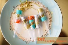Sequin Confetti Poppers DIY