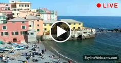 Relaxing afternoon in #Boccadasse. #Liguria #Live #Webcam #Travel #Italy #Italia