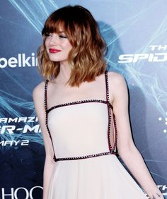 Emma Stone Red Carpet, Emma Stone Hair, Actress Emma Stone, African American Beauty, Sexy Dresses, Cute Girls, Beautiful Women, Glamour, Actresses