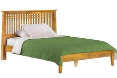 Solstice Platform Bed Frame Oak