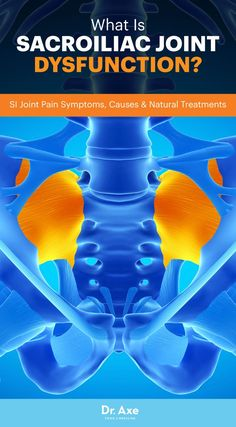 Sacroiliac joint dysfunction, also commonly called SI joint pain, is a condition that causes upper leg and lower back pain. Sacroiliac joint and lower back pain Yoga, Sacroiliac Joint Dysfunction, Hypermobility, Si Joint Pain, Sore Hip Joint, Rheumatoid Arthritis Symptoms, Hip Arthritis, Back Exercises, Physical Therapy