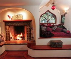 Fireplace Alcove, Ojai, California