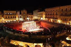 Lecce - Pianta Sant'Oronzo