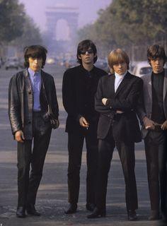 The Rolling Stones in Paris, 1965.  © Photo by Jean-Marie Périer.
