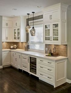 Choices In White Kitchen Cabinets - CHECK THE PICTURE for Lots of Kitchen Ideas. 68694535 #cabinets #kitchens