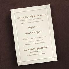 Crossed Borders - Invitation - Wedding Invitations - Wedding Invites - Wedding Invitation Ideas