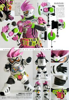 Kamen Rider Ex-Aid Flash Belt .65 by CometComics | Kamen ...