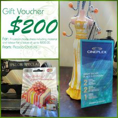 Come visit us at the Aurora Chamber of Commerce #StreetFestival and enter the chance to #WIN amazing #giveaways. #giftvoucher #$200voucher #cineplexmovies #cineplex #movies #movienight #popcorn #mastercard #$50 #freealteration #dressmaking #aurorafestival #acaciacouture #summerfun #streetparty #ferstivity #aurora #townofaurora #auroraseamstress #seamstress #auroratailor #tailor #alteration http://goo.gl/U1Fo9S