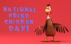Download Free National Fried Chicken Day desktop hd wallpapers and backgrounds images. More holiday wallpapers at: http://www.freecomputerdesktopwallpaper.com/