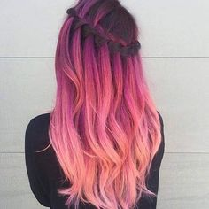 Immagine di hair, pink, and hairstyle