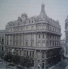 Splendid Hotel (Av. 9 de Julio y Av. De Mayo) - Año 1908 (demolido)