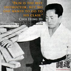 Martial Arts Instructor Quotes | filed in korean martial arts tagged with hapkido korean martial