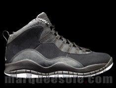 Air Jordan 10 Black/Stealth – First Look