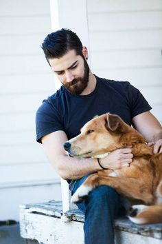 hair, beard, dog