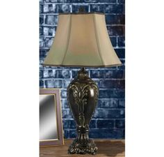 Kenroy Home Contessa Table Lamp in Bronzed Gold Finish