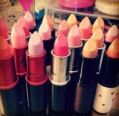 Cheap MAC Makeup Outlet! $1.8 #lips #lipstick #mac #makeup #cosmetics #pink #girly