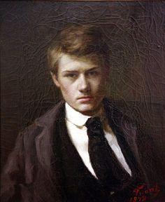 Self portrait --Émile Friant