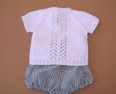 tutorial puntomoderno.com, jersey bebé tejido a dos agujas, knit baby cardigan, english pattern