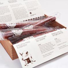 Salami - Cigar type packaging