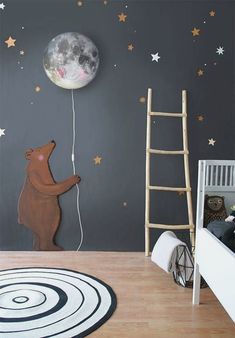 SHOP THE LOOK: Kids Room Decor Ideas to Inspire. We all know how difficult it is to decorate a kids bedroom. A special place for any type of kid, this Shop The Look will get you all the kid's bedroom decor ide Deco Kids, Kids Room Design, Nursery Design, Baby Boy Rooms, Baby Boy Bedroom Ideas, Baby Room Ideas For Boys, Room Baby, Kid Rooms, Baby Boy Room Decor
