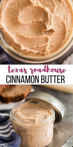 This easy Cinnamon Butter recipe goes on EVERYTHING! Buns muffins banana bread your morning toast and more. A Texas Roadhouse cinnamon honey butter copycat that you wont be able to live without! The post Cinnamon Butter appeared first on Recipes. Flavored Butter, Homemade Butter, Whipped Butter, Homemade Vanilla, Homemade Sweets, Homemade Food, Homemade Cinnamon Rolls, Easy Homemade Bread, Homemade Yeast Rolls