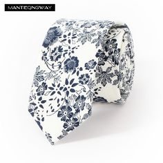 Find More Ties & Handkerchiefs Information about Mantieqingway Wedding Floral Ties for Men Blue Flower Dots Cotton Narrow Tie Skinny Cravat Ties for Winter Men Party Skinny Tie,High Quality skinny tie,China cravat tie Suppliers, Cheap ties skinny from Man Tie Qing Way Store on Aliexpress.com