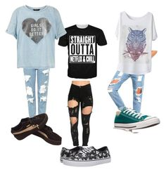 """""""Untitled #140"""" by moda-makeup ❤ liked on Polyvore featuring Topshop, Vans, Converse, Puma, New Look, men's fashion and menswear"""