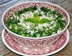 ALYAMİNA KUZİNE: salatalar