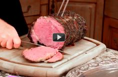 Simple Steps to the Perfect Holiday Rib Roast by thermoworks #Beef #Rib_Roast