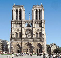 Notre Dame de Paris- also known as the Notre Dame Cathedral, is a Roman Catholic Cathedral on the eastern half of the Île de la Cité. In the same spot where this cathedral now stands, the Romans built a temple to Jupiter, it was followed by a Christian basilica and then a Romanesque church.