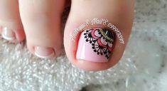 Cute Toe Nails, Cute Toes, Pedicure Nail Art, Toe Nail Designs, Nailart, Tattoos, Mandalay, Instagram Posts, Enamel