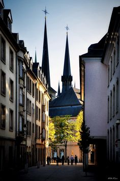 500px / Photo The streets of old Luxembourg II by Viktor Korostynski