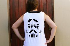 LDP: DIY Stormtrooper Cut-Out Shirt