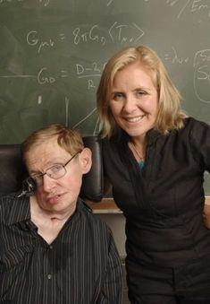 Stephen Hawking, world renowned scientist, severely disabled.