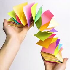 Origami Paper Crafts Creative ideas about paper crafts. The post Origami Paper Crafts appeared first on Paper Diy. 5 Min Crafts, Diy Home Crafts, Diy Arts And Crafts, Creative Crafts, Fun Crafts, Crafts For Kids, Wood Crafts, 5 Minute Crafts Videos, Rustic Crafts