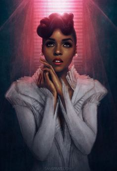 "Sam Spratt ""One of my core values is to help redefine what it means to be a strong and beautiful woman in the music and fashion worlds and to empower the wonderful things that make us unique."" - Janelle Monae"