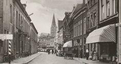 Jaren 50 met zicht op de Graanbeurs/ Havermarkt