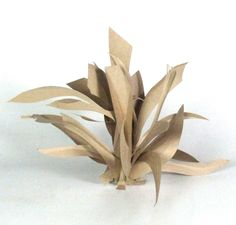 Abstract+Cardboard+Sculptures | Abstract Cardboard Sculptures