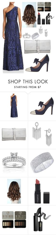 """River Flows In You  🌊"" by ervdirle ❤ liked on Polyvore featuring Aidan Mattox, SJP, Nino Bossi Handbags, Jessica Simpson, Annello, Anne Klein, Smashbox and INIKA"