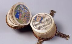 "The ""Codex Rotundus"" owes its name to its round shape. It is a small book of hours (9 cm diameter) made in Bruges in 1480."