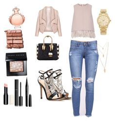 Untitled #7 by evelin-pap on Polyvore featuring polyvore, fashion, style, The 2nd Skin Co., Zizzi, Gianvito Rossi, MCM, Michael Kors, Forever 21, Bobbi Brown Cosmetics, Chanel, Marc Jacobs, Paco Rabanne and clothing