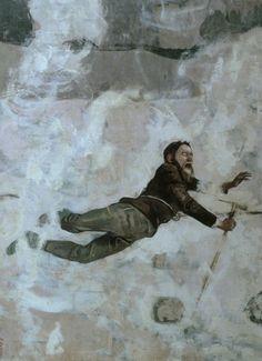 Lake Run, Gouache, Koloman Moser, Mountain Pictures, Edvard Munch, Ferdinand, Figure Painting, Sculpture, Autumn Leaves