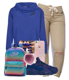""""" by diamondanderson287 on Polyvore featuring NIKE, Skinnydip and Vans"