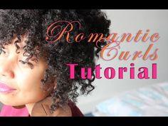 Romantic Curls Updo Tutorial