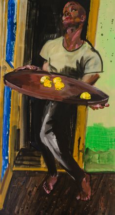 Rainer Fetting (German: 1949) -  'Here are the Lemons (Desmond Cadogan),' 2015