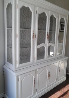 furniture Re-tiqued by Rae Bond: Chickadee-China, The China Cabinet! How to choose contemporary Ratt Refurbished Furniture, Repurposed Furniture, Furniture Makeover, Furniture Decor, Painted Furniture, Furniture Design, Dresser Makeovers, Space Furniture, Furniture Cleaning