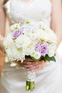 Lavender and Ivory Bridal Bouquet | Abloom Ltd. | Betsy Robinson's Bridal Collection https://www.theknot.com/marketplace/betsy-robinsons-bridal-collection-baltimore-md-389468 | Anna Grace Photography https://www.theknot.com/marketplace/anna-grace-photography-towson-md-607080