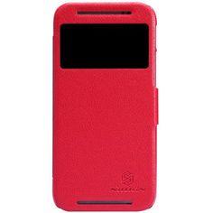 Чехол для HTC One M8 Nillkin Fresh Series красный  — 250 руб. —  Чехол Чехол для HTC One M8 Nillkin Fresh Series красный