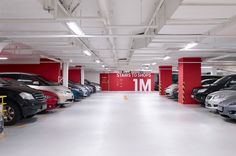 Sensational Stylish Car Park Designs: Nice Management Of Unique Car Park Decorating Ideas